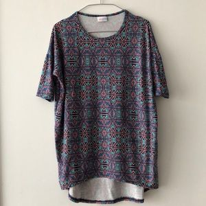 LuLaRoe Multicolored Perfect Tee!